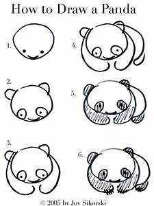 A Wink & A Gun: Semi-useless talent: How to draw a panda