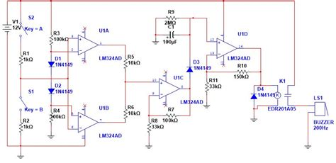 Amp Floating Input Multisim Electrical