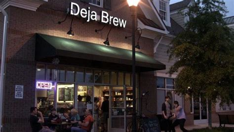 You may think of designing your coffee shop logo as an almost insurmountable chore. deja brew   21 Coffee Shop Names That Are Guaranteed To Put a Smile On Your Face   WorkPulse ...