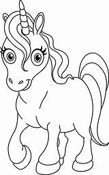 Unicorn Coloring Pages sketch template
