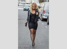 Danielle Armstrong flaunts her ample assets at TOWIE