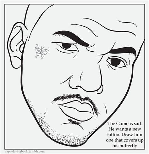 Rap Coloring Book Genius