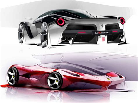 design a car car and product sketches on car sketch