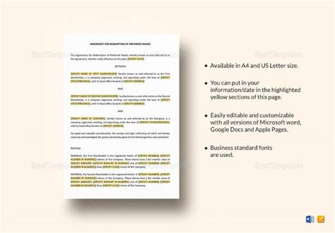 profit sharing agreement templates sample templates