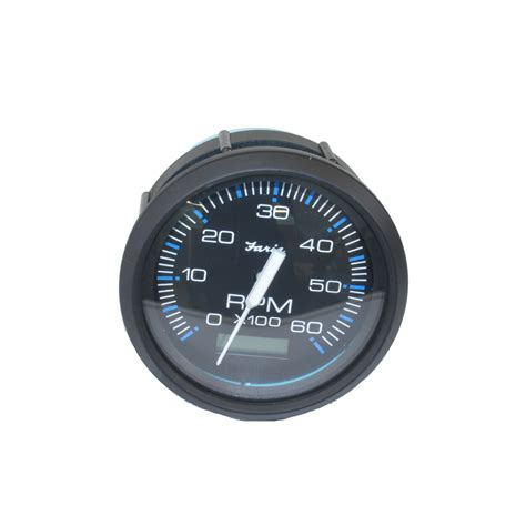 Boat Gauges Repair by Tachometer Black Faria Replacement Nautique Parts