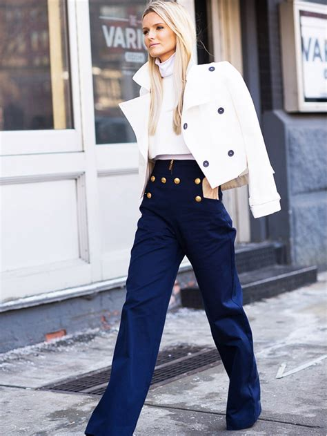 The Best Outfit Ideas for Sailor Pants 2018 | FashionGum.com