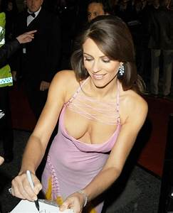 Large image of Elizabeth Hurley Downblouse Dress at