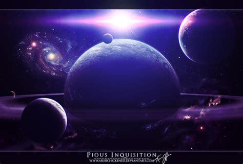 Обои Галактика, взрыв, планеты, космос для рабочего стола