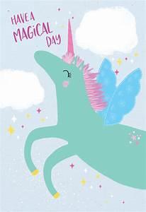 unicorn day birthday card free greetings island