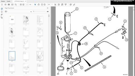 Case Super Loader Backhoe Parts Catalog Manual Youtube