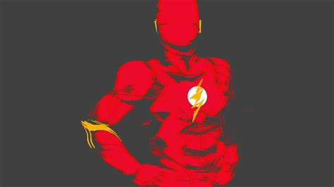 The Flash Animated Wallpaper - wallpaper the flash minimal hd 4k 9768