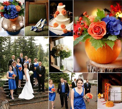 65 best images about blue orange wedding ideas on