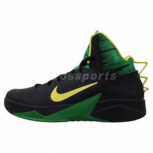 Nike Zoom Hyperfuse 2013 XDR Black Green Yellow 2014 Mens ...