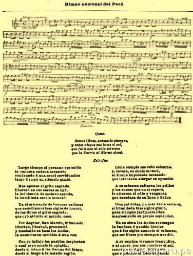 Dia Compositor Resumen by Himno Nacional Per 250 Historia