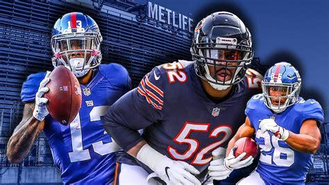 york giants  chicago bears