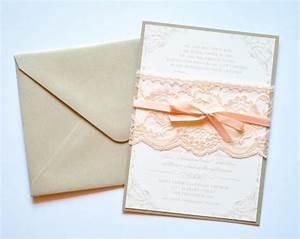 blush lace wedding invitations blush and gold lace With blush gold and white wedding invitations
