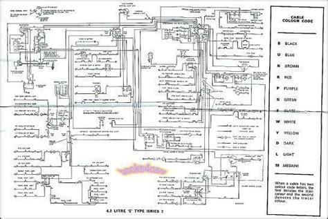 Jaguar Wiring Diagram Electrical Xke Type