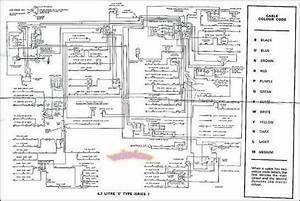 Jaguar E Type 3.8 Wiring Diagram