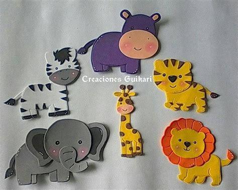 figuras en foami animales de la selva o safari bs 10 000 00 en mercado libre