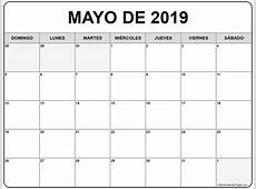 mayo de 2019 calendario gratis Calendario de