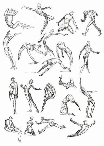 Frame Poses Reference Drawing Pose Human Sketch
