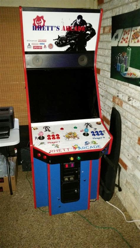 build mame cabinet build a home arcade machine room solutions