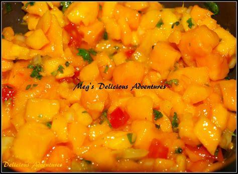 mango salsa meg s delicious adventures mango salsa