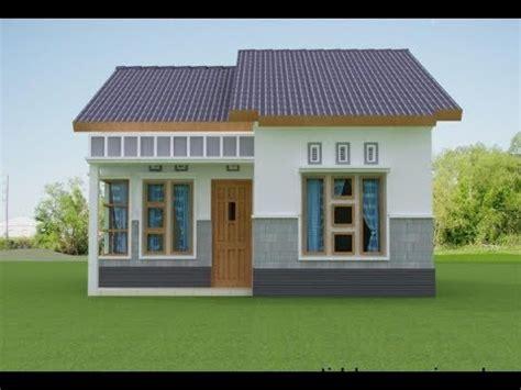 desain rumah  ukuran  meter biaya  juta youtube