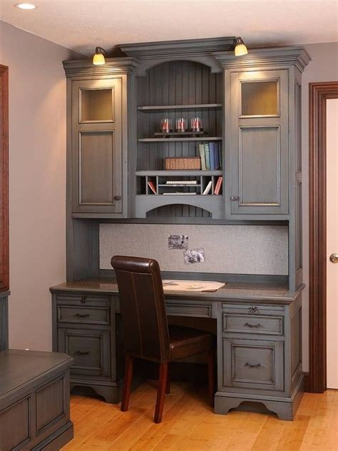 built in desk ideas traditional home office built in desk design pictures