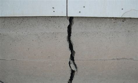 Slab Cracks Cause Foundation Damage That Needs Repair