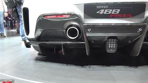 16 Silver 2019 Ferrari 488 Pista At 2018 Geneva Motor Show