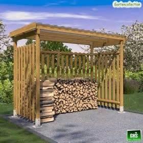 Grill überdachung Holz : unterstand 3x1 5 m f r kaminholz grill oder gartenger te 3 seitig verkleidet zuk nftige projekte ~ Buech-reservation.com Haus und Dekorationen