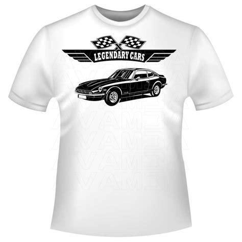 Datsun T Shirt by Datsun 280z 260z 240z Version 2 Datsun Nissan 1969