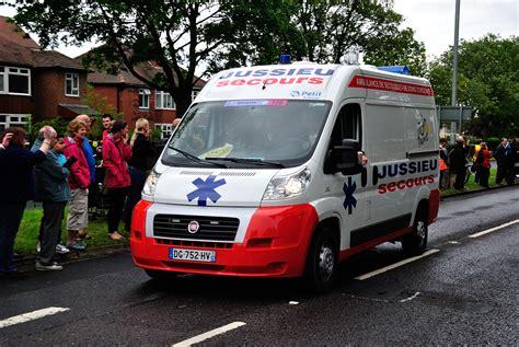 Tour De France Jussieu Secours (french National Ambulance