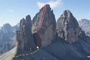 Rock Climbing on Tre Cime di Lavaredo - Dolomiti SkiRock