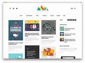 30 best personal blog wordpress themes 2017 colorlib With create blog page template wordpress