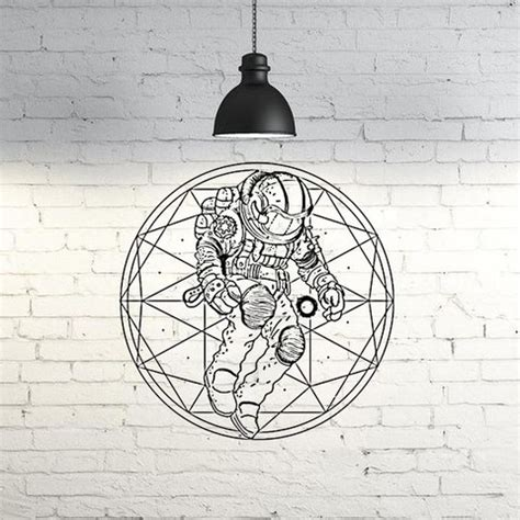3d wall decoration models are ready for interior projects. Download free 3D printing models Astronaut Wall Sculpture 2D ・ Cults