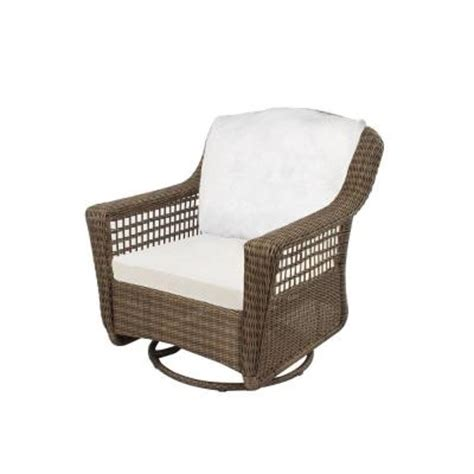 hton bay grey all weather wicker patio