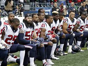 Many Fans Angered After Texans Players Take A Knee ...