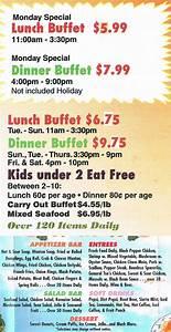 Tin Tin Buffet Chinese Restaurant Auburn Maine MenusInLA