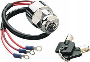 Drag Specialties Chrome Ignition Switch 75