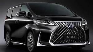 Lexus LM 300h Luxury Minivan Debuts, Looks Amazing