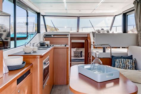 Swift Boat Interior by Beneteau Swift Trawler 30 Pocket Cruising For Couples