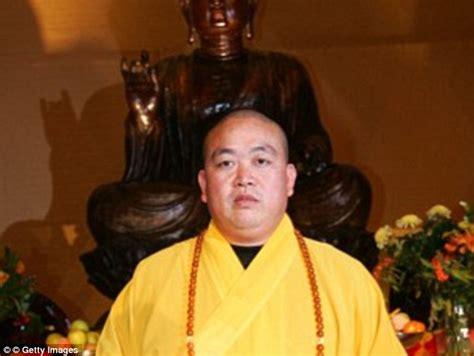 shi yongxin shaolin head scandal abbot monk underwear temple she zen investigation government said woman wore buddhist fu kung celibate