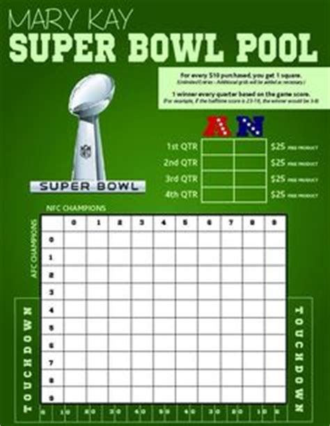 Open Office Football Pool by Printable Bowl Squares 25 Grid Office Pool It S