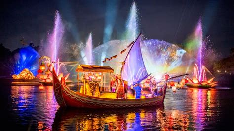 rivers of light rivers of light nighttime experience walt disney world