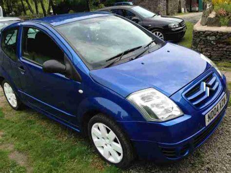 Citroen Gt For Sale by Citroen 2004 C2 Gt Blue Car For Sale