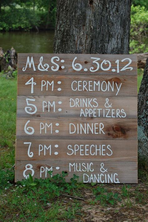 126 Best Wooden Country Wedding Signs Images On Pinterest