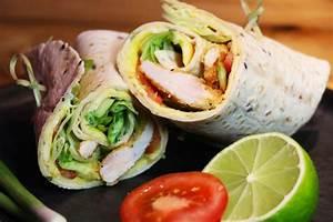 Recette Avec Tortillas Wraps : recette des wraps de poulet croustillant maison facile ~ Melissatoandfro.com Idées de Décoration