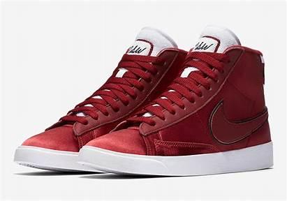 Nike Blazer Mid Satin Crush Jacket Releases